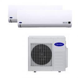 Ar Condicionado Bi Split 2x12000 BTU/s Quente/Frio 220V Carrier 42LMQBB12515LC