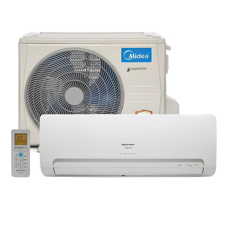 911e11b42 Ar Condicionado Split Hw Inverter Springer Midea 12000 Btus Quente Frio  220v 1F 42MBQA12M5 R  2.099