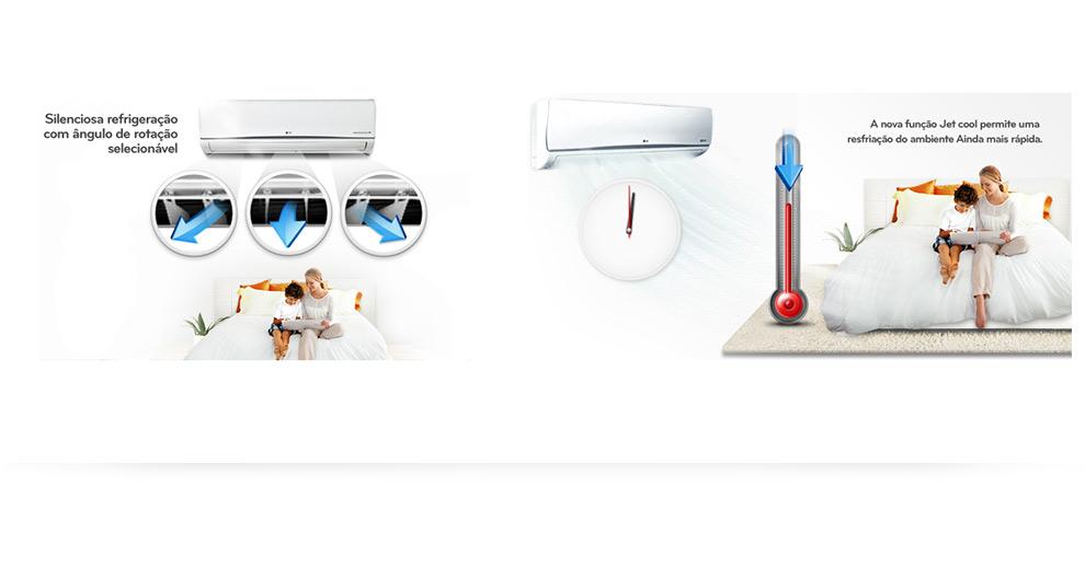 Ar Condicionado Split Inverter Art Cool LG 12000 BTUs Frio
