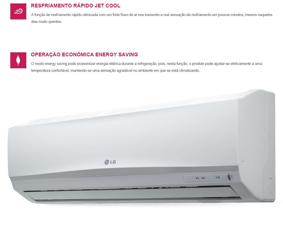 Ar Condicionado Split Smile 9000 BTUh Quente-Frio