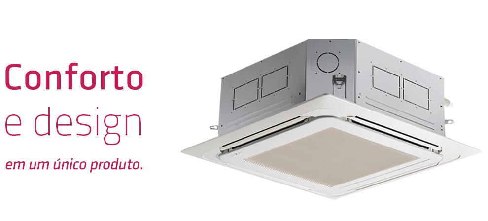 Ar Condicionado Cassete LG 18000 BTUs Quente-Frio