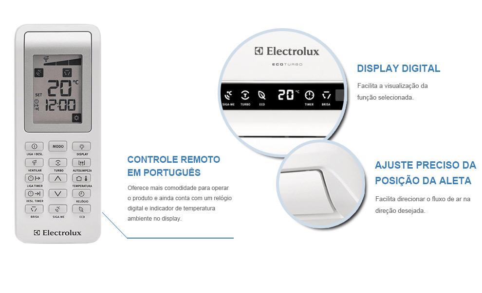 Ar Condicionado Split Eco Turbo Electrolux 9000 Btus Frio