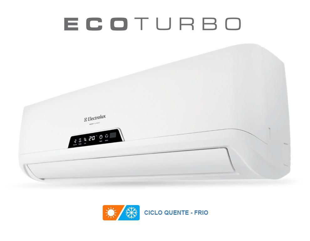 Ar Condicionado Split Eco Turbo Electrolux 9000 Btus Quente-Frio