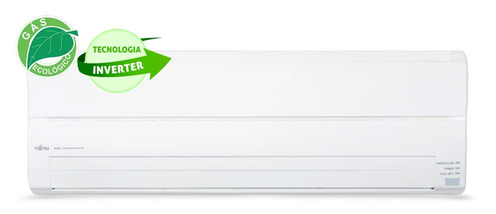 Ar Condicionado Split Inverter Fujitsu 9000 Btus Quente-Frio