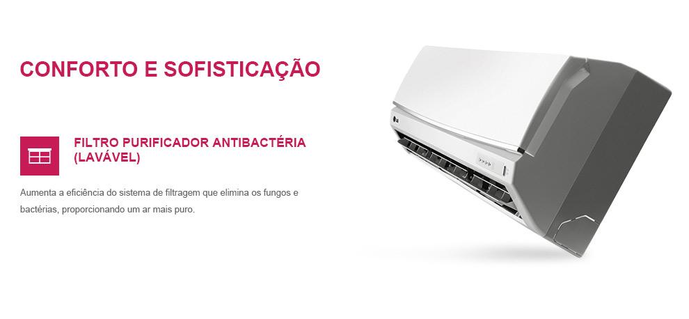 Ar Condicionado Split LG Smile 24000 BTUs Quente-Frio